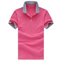 Mens Polo Summer Casual Slim shortsleevepoloshirt Cotton Polo Shirts Men's Clothing Male Tops mesh #01 M