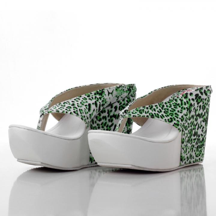 be8d68ced68 New Style Women High Heels Flip Flops Platform Wedges Slippers ...