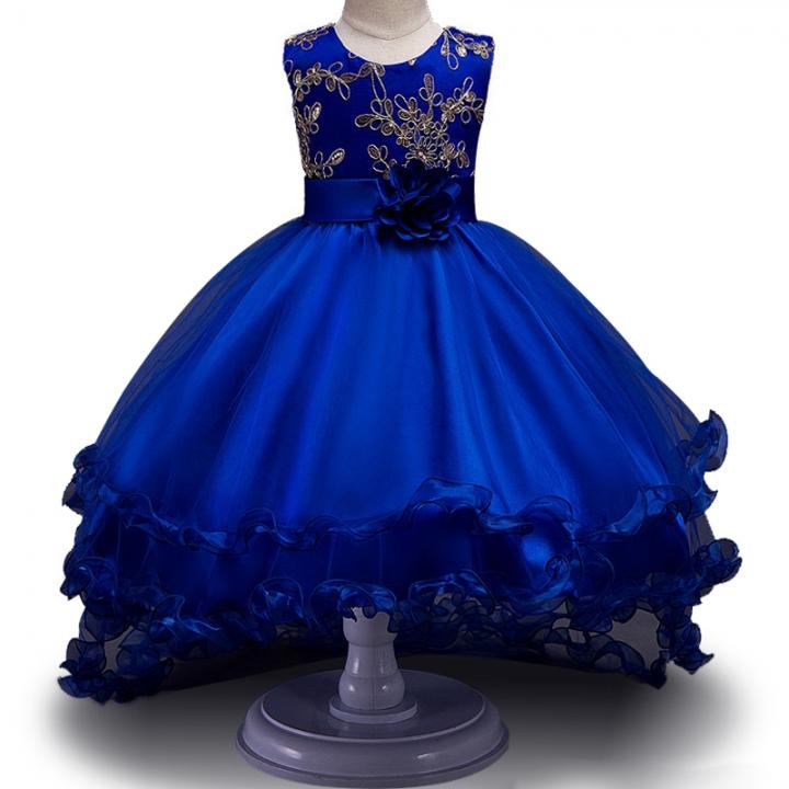 72df1a1e8 High Quality Girls Sleeveless Princess Children flower dress For ...