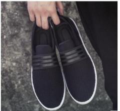 Cuculus 2017 Men Casual Canvas Shoes Men ladies New Fashion Spring Autumn black 39