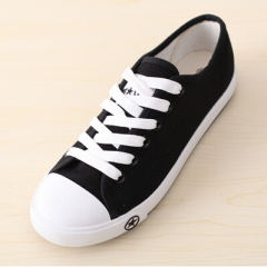 New Women Canvas Shoes Casual Lace-Up Cute Spring Candy Colors Ladies Flats white 01 35(women)