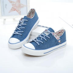 American brands autumn new canvas shoes women casual shoes to help low permeability 01 35(women)