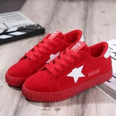 2017Fashion Women Shoes 2017Women Casual Shoes Comfortable Damping Eva Soles Platform Shoes red 35