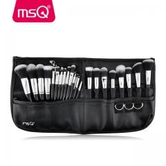 MSQ 29 stücke Make-Up Pinsel Set Kosmetischer Pinsel Set Mit Hoher Qualität PU ledertasche 1 sets