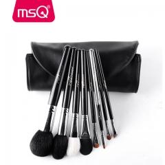 MSQ 8 stücke  Make-Up Pinsel Set Foundation Puder  Pinsel für Travel Soft Natürliche  makeup brush 1 sets