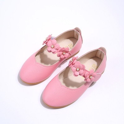 9bee1e5f251 ... Sweet Flowers Flat Baby Girls Princess Shoes Soft Leather Girl Summer  Kids Shoes pink 35  Product No  1174022. Item specifics  Seller SKU Z0135   Brand