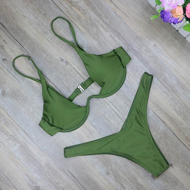 157578aeed ... thong bathing suit high waist swimsuit Solid swimwear women Brazilian  Biquini swim beach micro bikini set NO 6 L  Product No  1244629. Item  specifics ...