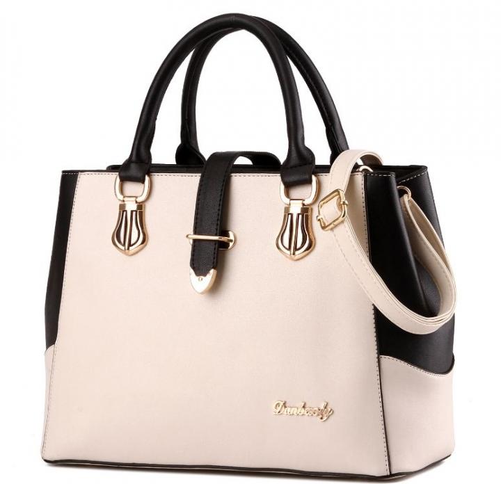 European fashion luxury female single shoulder bags top leather handbags white one size