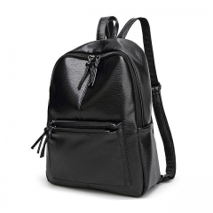 ISEEN Brand Backpack for Girls Office Lady and Women Black 26cm-10cm-34cm