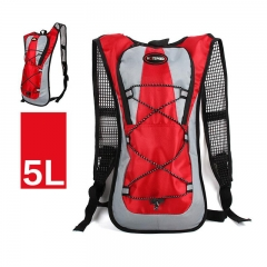 ISEEN Brand Lightweight Packable Durable Travel Hiking Backpack Red