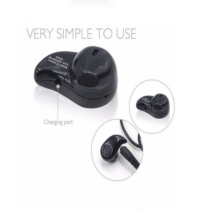 ISEEN Brand Wireless Invisible Bluetooth V4.1 Mini Earphone Black