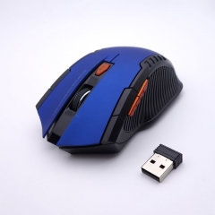 ISEEN Brand Wireless Mouse for Gaming and Working Blue 12cm-7cm-4cm