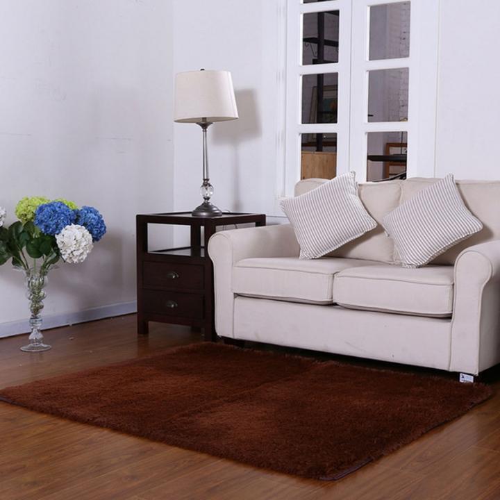 ISEEN Brand Home Decorator Modern Shag Area Rugs /Door Mat/ Carpet Super soft for Living Room Coffee 60-90