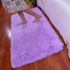ISEEN Brand Home Decorator Modern Shag Area Rugs /Door Mat/ Carpet Super soft for Living Room Purple 60-90