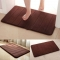 ISEEN Brand Memory Foam Coral Velvet Rug/carpet for home, Anti-water and Strong water absorbing coffee 50-80