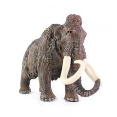 ISEEN Brand mammoth African Elephant Toy Figure Gifts & Decor grey 20cm-7cm-13.5cm