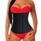 ISEEN Brand Women Waist Training Under bust Corset Body Shaper Waist Trainer black m