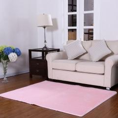 ISEEN Brand Home Decorator Modern Shag Area Rugs /Door Mat/ Carpet Super soft for Living Room Pink 40-60