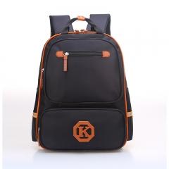 ISEEN Brand Unisex Backpack, Water Resistant School Backpack for primary /high school/collage black 42cm*32cm*15cm