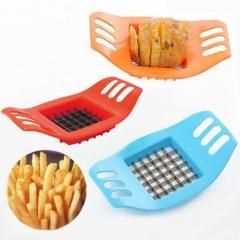 ISEEN Brand Potato Cutter Slicer Stainless Steel Vegetable Fruit Slicer Chopper Chips random as picture