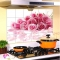 ISEEN Brand Wall Sticker Waterproof Self adhesive Wallpaper for kitchen rose pattern 35cm*75cm