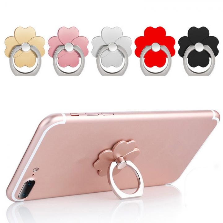 ISEEN Brand 5 Pieces Cell Phone Metal Ring Grip Holder & Stand (Random Color Delivered) random 3.6cm*3.6cm