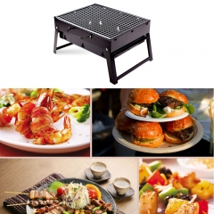 ISEEN Brand BBQ Grill and 5-meter Aluminum Foil Set
