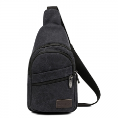 ISEEN Brand Sling Bag Pack, Chest Shoulder Cross-body for Hiking Backpack Sport Bicycle black 17cm*9cm*30cm