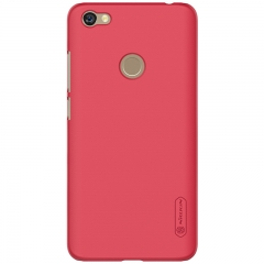 ISEEN Brand Hard Case for Xiaomi Redmi Note 5A Polycarbonate material Matte Feeling red 15.5cm*7.5cm*0.8cm