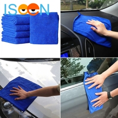 ISEEN Brand 5 Pieces Microfiber Car Wash Detailing Towels  Cleaning Washing Cloths for Car