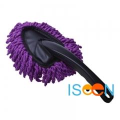 ISEEN Brand Premium Handheld Cleaning Brush Auto Detailing Waxing Car Wash Brush Car Body purple 30cm*11cm*5cm