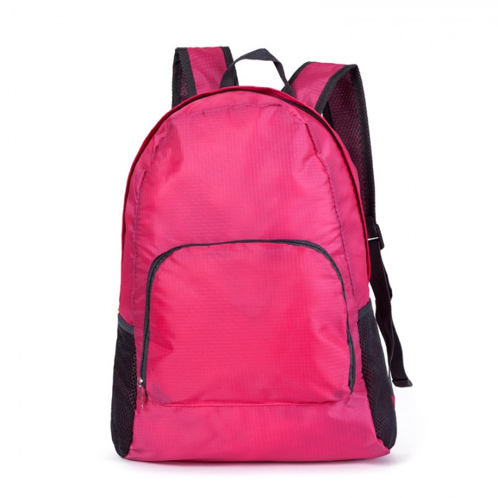 outdoor Climbing package package travel package fold Incorporated backpack rose red large