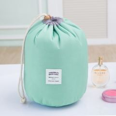 Outdoor Travel Incorporated Package Life Supplies Washing Goods Cylinder Incorporated Package Macaron blue large