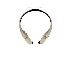 Bluetooth headset Neck hanging type wireless  stereo Hanging neck type headset Mobile phone  General gold