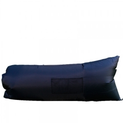 Side bag fast Inflatable sofa outdoor air sleeping bag Portable camping Beach Inflatable pad black