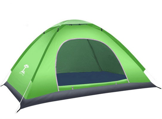 outdoor tent tent 3-4 people Fully automatic tent  camping  Set Beach tent green Single door 3-4 people