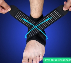 movement Protector  Foot wrist Protect your ankle basketball sprain Protection ligament Ankle black one size