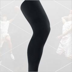 outdoor movement Leggings Non-slip Protect the calf football basketball Leggings black m