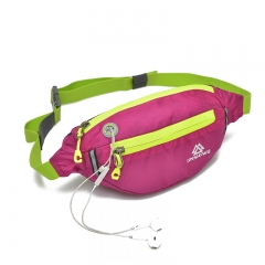 outdoor movement Close Pockets Bicycle bag sports bag Riding a bag Run away Climbing Running bag rose red one size