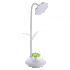 LED eye Protection Table Lamp Pen Holder Lamp Fold Bending Table Lamp Multifunction Eye protection white 41cm*11cm*10cm 3w