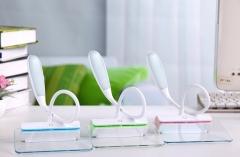 Creative Gift Lamp Fun light Charge LED Bedside lamp USb fluorescent plate Night Light green 34cm*12cm*14cm 1.7w