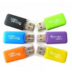 Card Reader MicroSD / TF card / Phone Memory card High speed 2.0 Card reader  Storage Card Product Random Color cuboid 32g