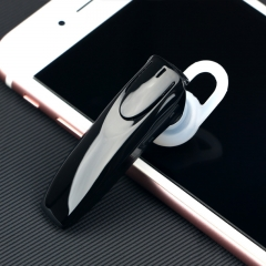 unilateral   Bluetooth headset wireless Hanging ear style General  Bluetooth fashion headse black