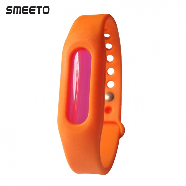Insect Repellent Wristband Anti-mosquito Baby Pregnant Women Insect Repellent Wristband orange blue