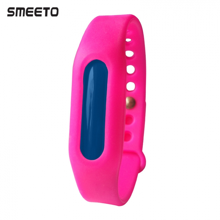 Insect Repellent Wristband Anti-mosquito Baby Pregnant Women Insect Repellent Wristband rose red blue