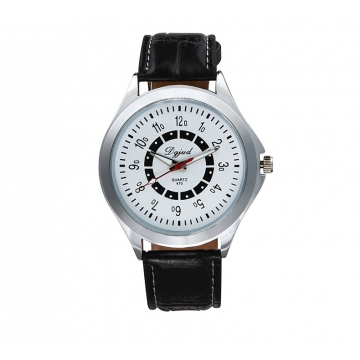 Couple Watch  Business General men and women fashion Belt Watch white