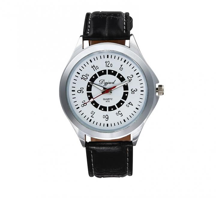 Couple Watch  Business General men and women fashion Belt Watch white