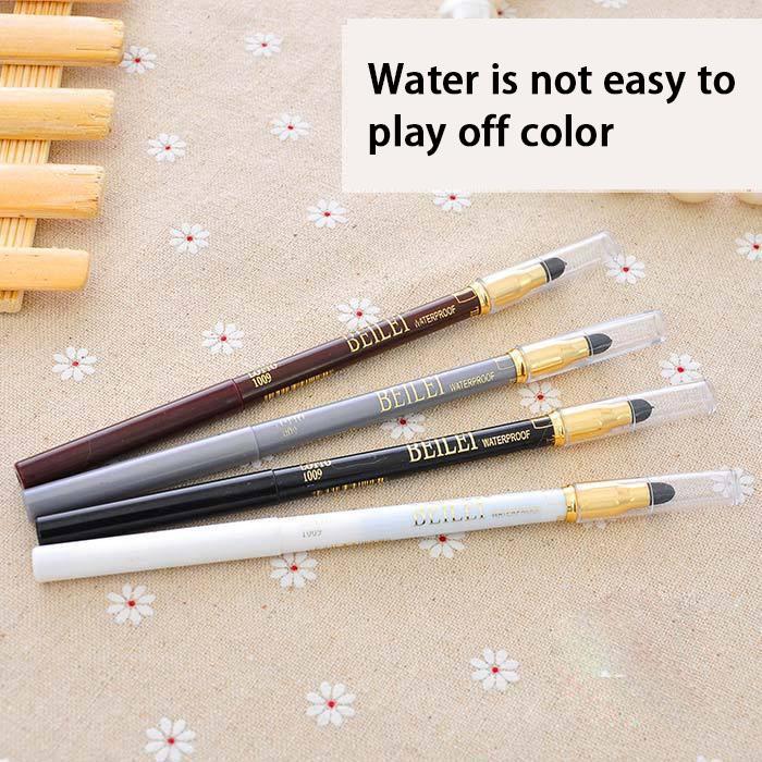 Eye shadow pen Eyeliner  automatic Sponge rub Eye shadow pen  Multicolor Eye shadow pen 4 colors