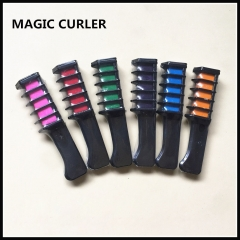 One-time Hair sticks  Dyed comb  6 colors available Hair coloring Chalk Hair dye Hair cream 6 colour one  size
