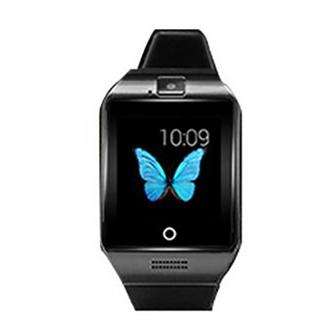 Bluetooth intelligent Watch NFC Support SIM card Memory card With camera black one size